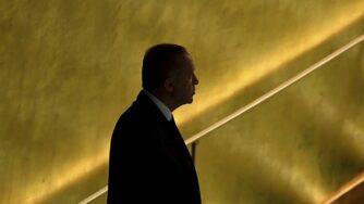 Erdogan alle Nazioni Unite (La Presse)