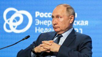 Vladimir Putin, Russian Energy Week (la Presse)