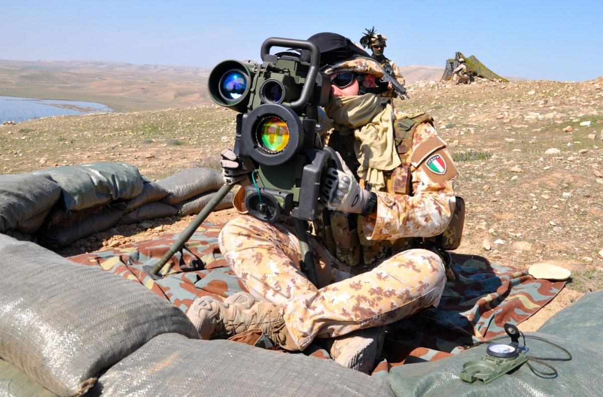 Arma conrtocarro a difesa della diga di Mosul DSC_0708