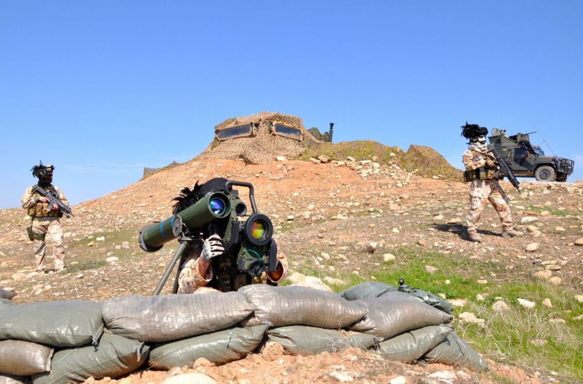 Arma controcarro a difesa della diga di Mosul DSC_0707