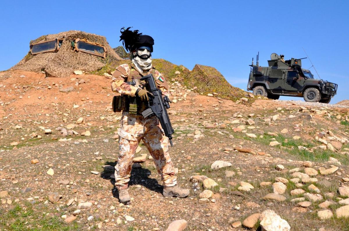 Postazioen difensiva italiana per la diga di Mosul DSC_0709